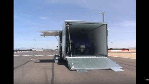 JIMGLO Enclosed Trailer