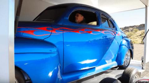 One Car Trailer