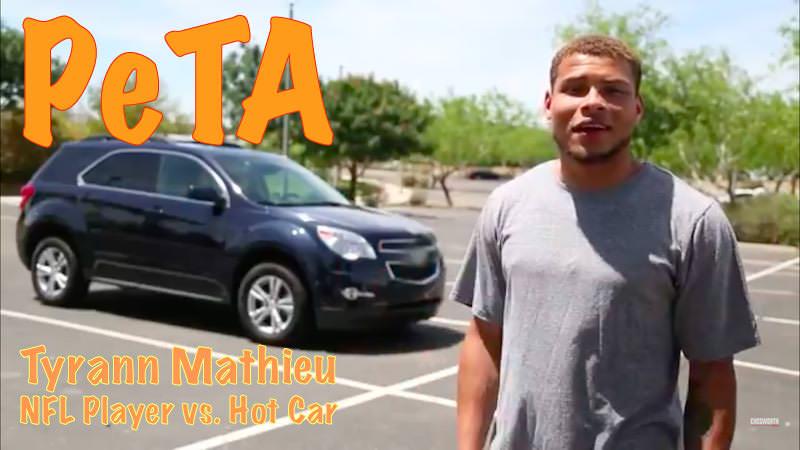 Hot Car Challenge -NFL MVP Tyrann Mathieu